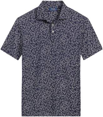 Ralph Lauren Floral Soft-Touch Polo Shirt