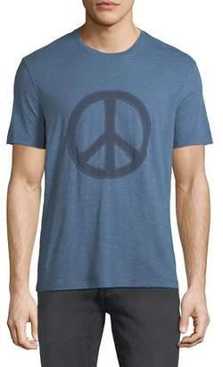 John Varvatos Men's Peace Symbol Graphic T-Shirt