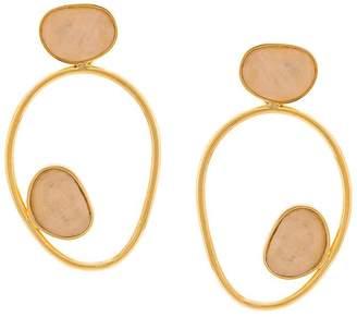 Lizzie Fortunato echo wire earring