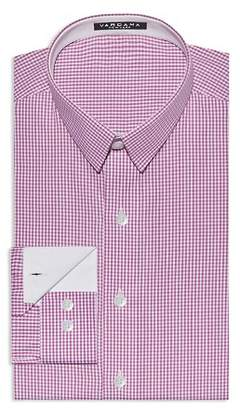Vardama Bethesda Small Check Stain Resistant Regular Fit Dress Shirt