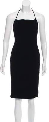 Calvin Klein Velvet Mini Dress