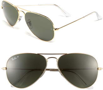 26956c9490ae Ray-Ban Original 58mm Aviator Sunglasses