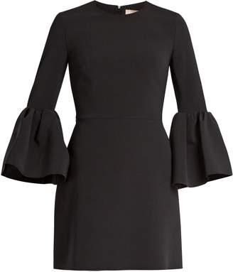 ROKSANDA Hadari bell-sleeved cady dress $1,033 thestylecure.com