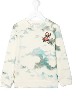 Stella McCartney skateboarder crest sweatshirt