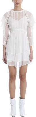 IRO Western White Viscose Dress