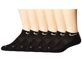 Nike Dri-Fit Low Cut 6-Pair Pack (Black/