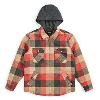 Brixton Men's Bowery Relaxed Fit Flannel Jacket