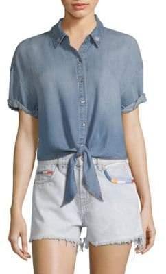 Margherita Splendid x Missoni Roma Button-Front Shirt