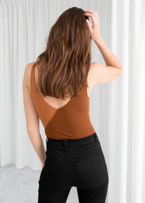 Diagonal Colour Block Bodysuit