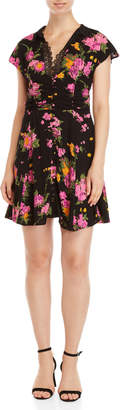 Free People Floral Button-Front Dress