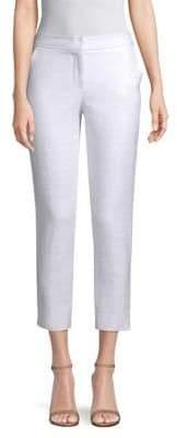 Trina Turk Women's Moss Cropped Pants - White - Size 4