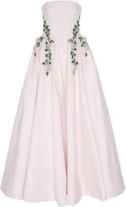 Zac Posen Gauffre Embellished Ball Gown