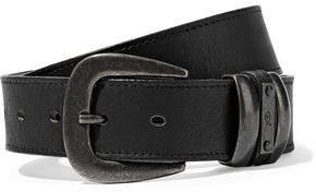 McQ Textured-Leather Belt