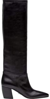 Prada knee-length boots