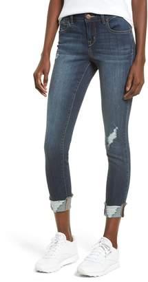 1822 Denim Ripped Cuffed Skinny Jeans