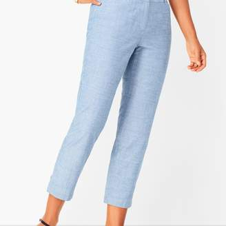 Talbots Perfect Crops - Curvy Fit- Chambray