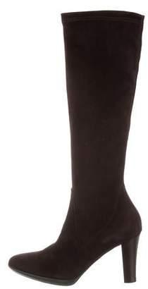 Aquatalia Suede Knee-High Boots