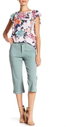 NYDJ Stretch Cotton Crop Pants (Petite)