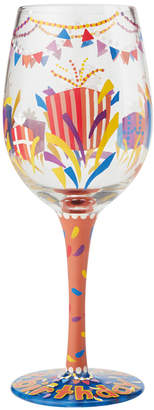 Enesco Lolita Happy Birthday Wine Glass