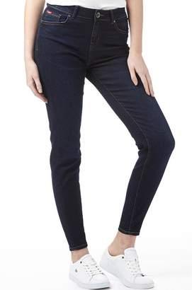 Lee Cooper Womens Tiara Jeans Dark Wash