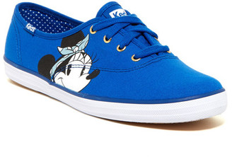 Keds Minnie Mouse Face Low Sneaker $55 thestylecure.com