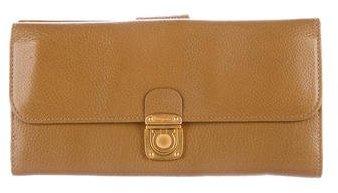Salvatore Ferragamo Gancio Leather Wallet