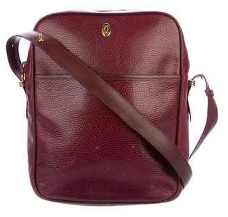 Cartier Leather Must De Crossbody Bag