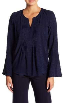 Daniel Rainn DR2 by Pleated Front Blouse