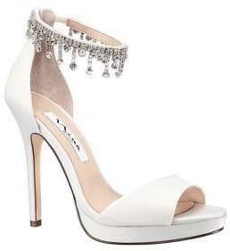 Nina Feya Embellished Stiletto Heel Sandals