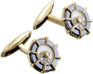 Chopard Heritage  18K 0.18 Ct. Tw. Diamond Cufflinks