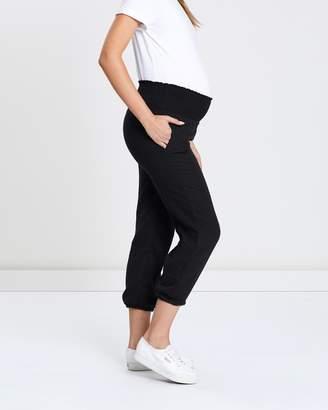 Angel Maternity Maternity Smock Breezy Cotton Weekend Pants