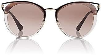 Prada Women's Cat-Eye Sunglasses - Brown