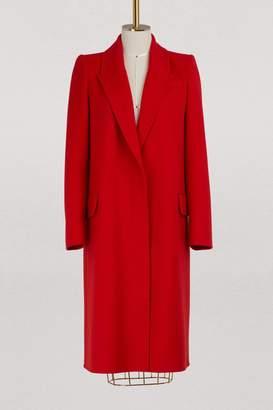 Alexander McQueen Wool and cashmere coat