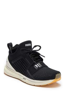 Puma Ignite Limitless Reptile Embossed Leather Sneaker