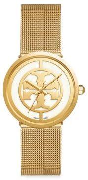 Tory BurchTory Burch Reva Goldtone Mesh Bracelet Watch