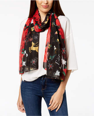 Charter Club Merry & Bright Oblong Scarf