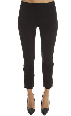 Vince Stretch Suede Crop Pant