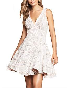 Love Honor Gigi Bionded Lace Dress