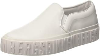Bikkembergs Womens BKW102079 Slip On White Size: 4 UK