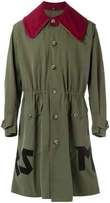 À La Garçonne vintage overcoat