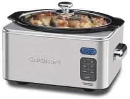 6.5-Quart Programmable Slow Cooker - PSC-650