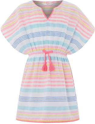 Accessorize Girls Woven Stripey Kaftan