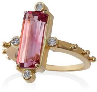 Jessie Western tourmaline ring