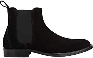 Barneys New York Men's Suede Chelsea Boots
