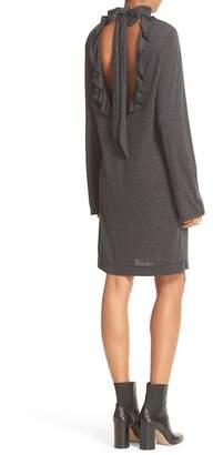 IRO Ruffle Back Knit Dress