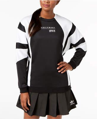 adidas Equipment Colorblocked Relaxed Sweatshirt