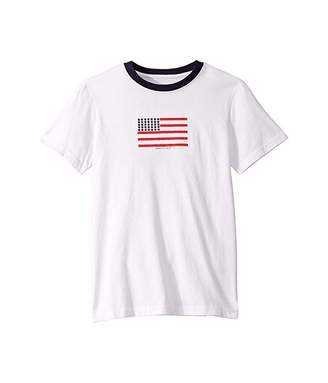 Janie and Jack USA Flag Graphic Tee (Toddler/Little Kids/Big Kids)