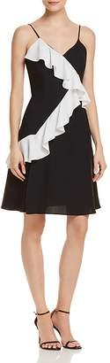 Aqua Contrast Ruffle Dress - 100% Exclusive