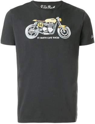 MC2 Saint Barth motorbike print T-shirt