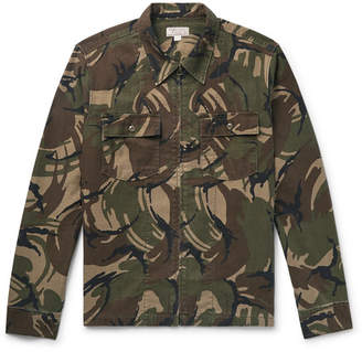 J.Crew Camouflage-Print Cotton-Canvas Shirt Jacket